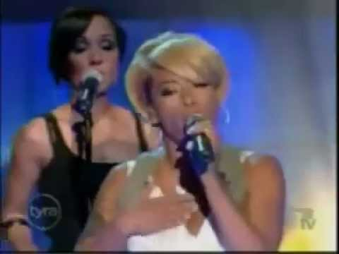 Keyshia Cole feat Amina - Shoulda Let You Go (Live)