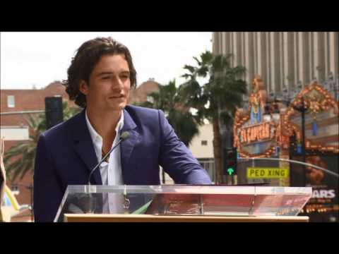 Orlando Bloom Receives Star on Hollywood Walk of Fame