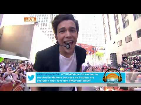 Austin Mahone - What About Love Today Show 2014