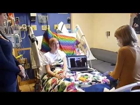Tayor Swift Visits Shelby Huff at Memorial Sloan Kettering Cancer Center in NYC
