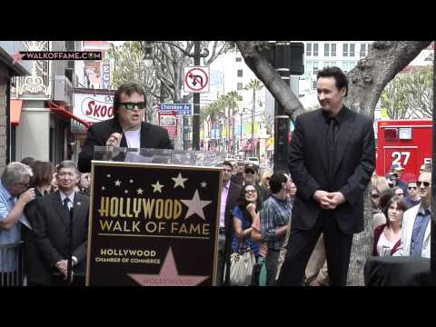 ACTOR JOHN CUSACK HONORED WITH HOLLYWOOD WALK OF FAME STAR