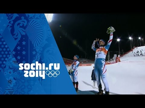 Alpine Skiing - Men's Slalom - Mario Matt Wins Gold | Sochi 2014 Winter Olympics