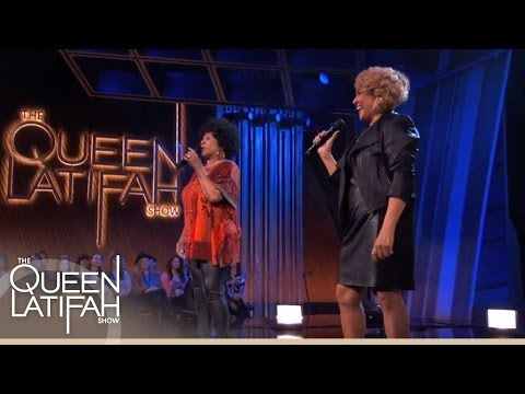 """Lean On Me"" Performance on The Queen Latifah Show"