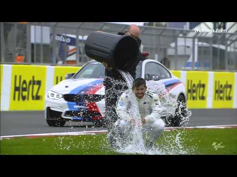 MotoGP™ responds to ice bucket challenge!