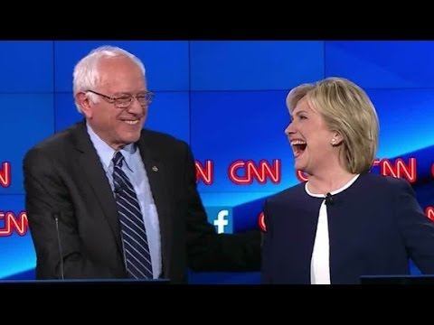 (Democratic Debate) Sanders: 'People are sick of hearing about Clinton's emails'