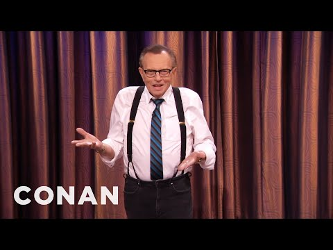 Larry King Will Not Die At 75! - CONAN on TBS