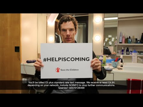 Crowded House - Help Is Coming (with an introduction by Benedict Cumberbatch)