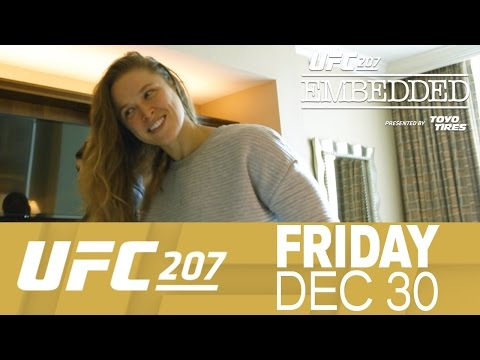UFC 207 Embedded: Vlog Series - Episode 5