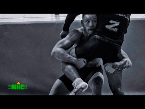 Conor McGregor wrestling before UFC 205: The Mac Life day 3