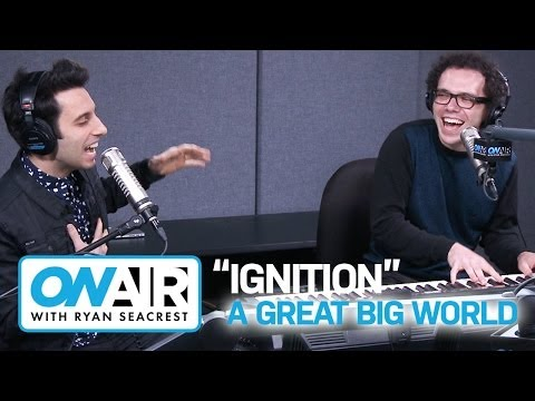 """A Great Big World Cover R. Kelly's """"Ignition (Remix)"""" I Performance I On Air with Ryan Seacrest"""