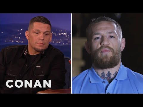 Conor McGregor Calls Out Nate Diaz - CONAN on TBS