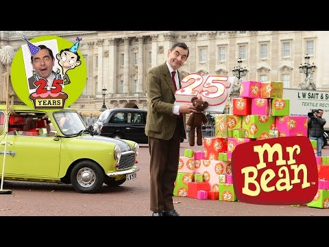Mr. Bean - 25th Anniversary - Mr Bean Drives His Mini Again!