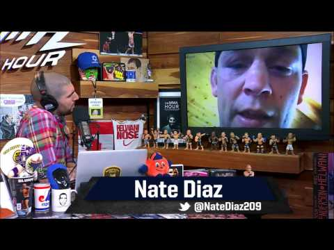 Special episode of The MMA Hour with Nate Diaz - May 3, 2017