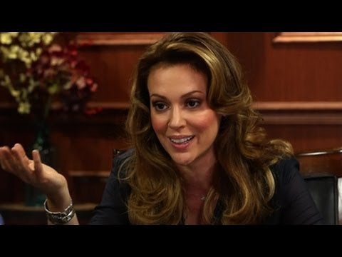 "Alyssa Milano And The ""Who's The Boss"" Reunion