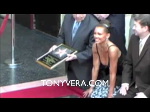 Vanessa Williams- received a star on the Hollywood Walk Of Fame Mar 20, 2007