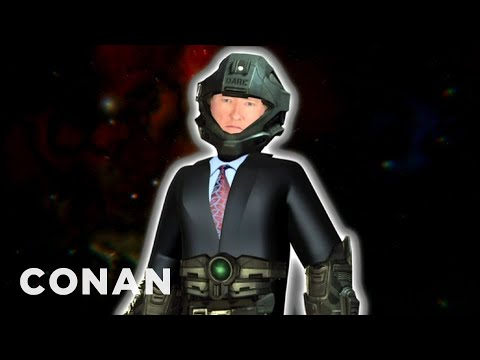 "Conan O'Brien's ""Halo 4"" Voiceover Remote - CONAN on TBS"