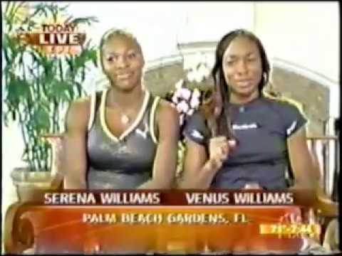 Venus Williams & Serena Williams interview TODAY Show (2002)