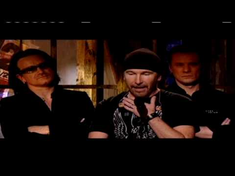 U2 Accepts Awarda at 2005 Rock and Roll Hall of Fame Inductions