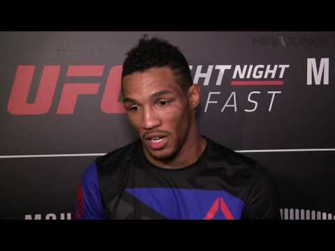 Kevin Lee ' If I knew Conor McGregor was sitting front row, I would have jumped the cage' after win