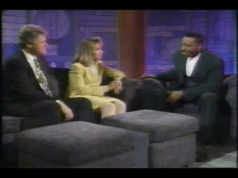 American Talk Show - Hillary Clinton in Arsenio Hall - 1992