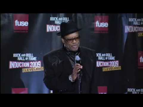 Bobby Womack Interview at the 2009 Rock Hall Induction Ceremony