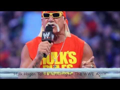Hulk Hogan Talks Wrestling Again on TMAS