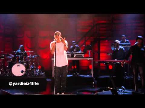 J Cole - Crooked Smile (Live at Conan 2013)