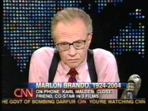 Larry King - Marlon Brando's death - July 2, 2004 3/4