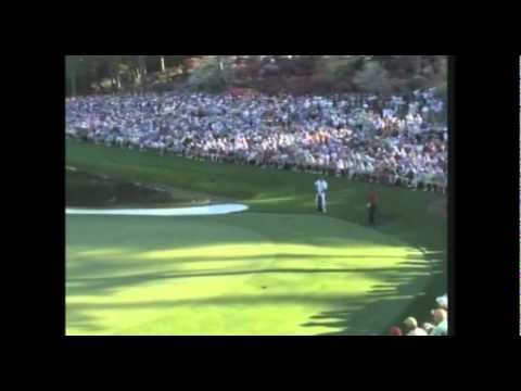 Tiger Woods - The Masters 16th hole 2005