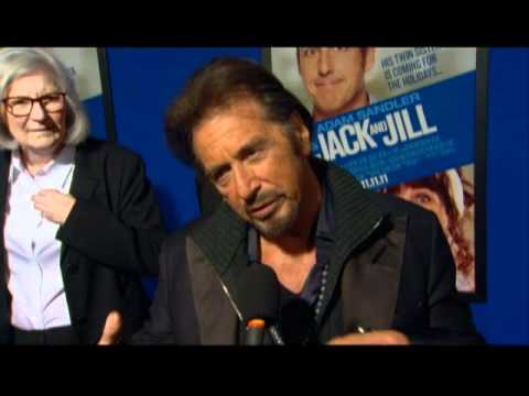 Al Pacino Interview from the Premiere of Adam Sandler's 'Jack and Jill'
