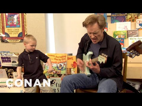Conan Writes Chicago Blues Songs With School Kids - CONAN on TBS