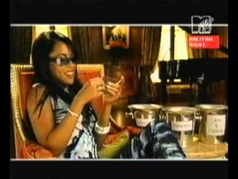 Aaliyah MTV Stripped [24 min Interview]