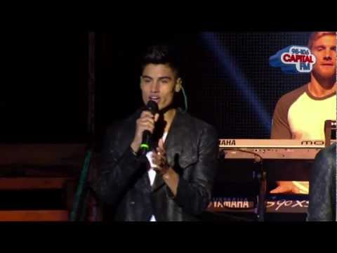 The Wanted - 'I Found You' (Live Performance, Jingle Bell Ball 2012)