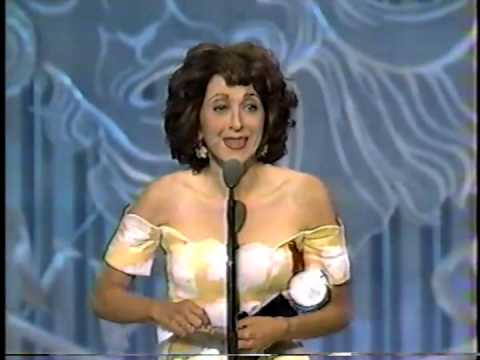 Andrea Martin wins 1993 Tony Award for Best Featured Actress in a Musical