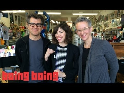 Portlandia's Carrie Brownstein chats with Xeni and Mark of Boing Boing