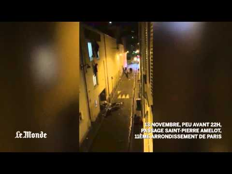 Bataclan attack video: People flee Paris theater seconds after terrorists open fire