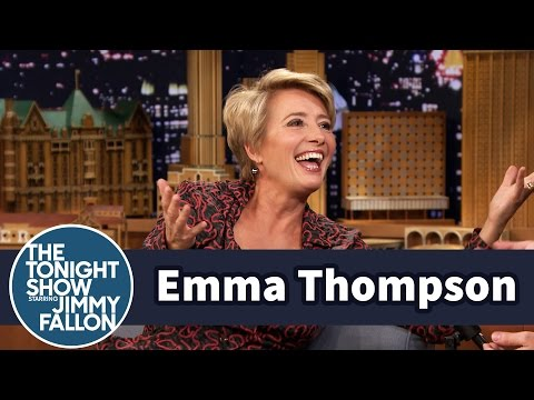 Emma Thompson Has Peter Rabbit's Jacket