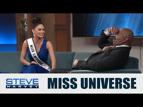 Miss Universe: Don't beat yourself up, Steve! || STEVE HARVEY