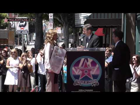 MARLEE MATLIN HONORED WITH HOLLYWOOD WALK OF FAME STAR