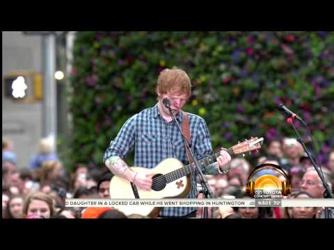 Ed Sheeran- Thinking Out Loud [Today Show 7/4/14]