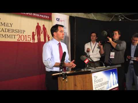 Scott Walker Press Conference - FLS 2015