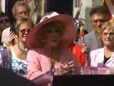 Ruta Lee got her star at Hollywood