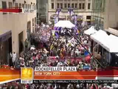 NKOTB - Today Show 5/16/08 Interview and Tonight performance