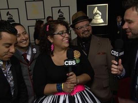 56th Grammy Awards - La Santa Cecilia Interview