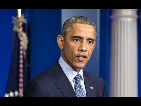 President Obama Issues a Statement on the Ferguson Grand Jury Decision