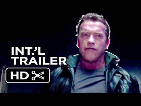 Terminator: Genisys Official International Trailer #1 (2015) - Arnold Schwarzenegger Movie HD
