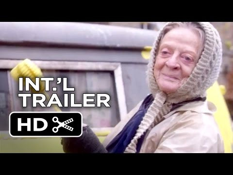 The Lady in the Van Official UK Trailer #1 (2015) - Maggie Smith, James Corden Movie HD