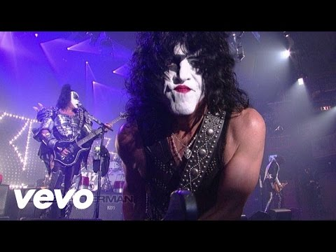 Kiss - Got To Choose (Live On Letterman/2012)