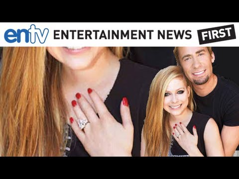 Avril Lavigne And Nickelback's Chad Kroeger Get Engaged, Show Off Ring: ENTV