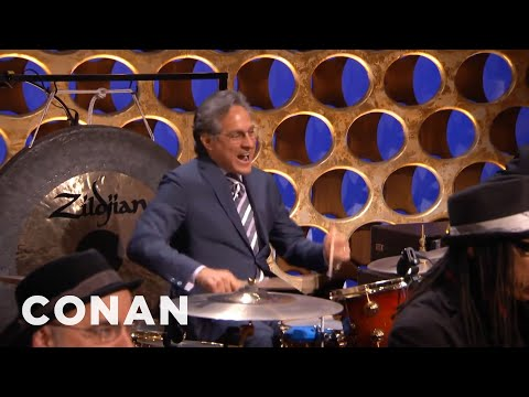 Max Weinberg Returns To CONAN - CONAN on TBS